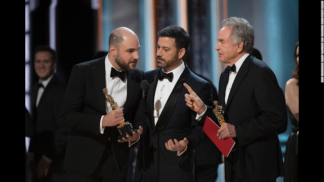 Oscars Mistake - Accountants accused of Best Picture blunder barred from Oscars