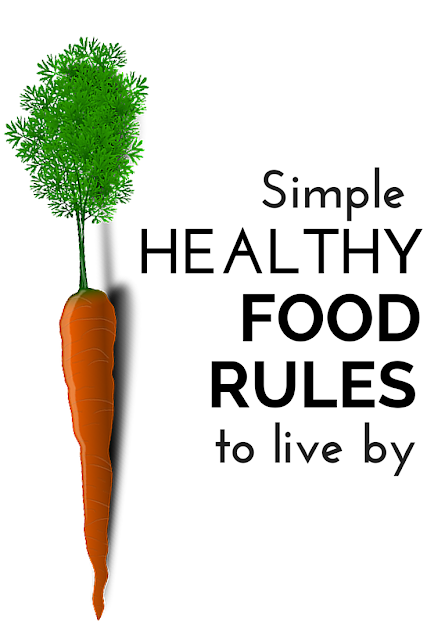 Here is help to keep your healthy eating plan simplified with these easy to remember, practical food guidelines to make your best food choices and meal plans for your family to eat right! Come find easy food rules for healthy eating that may help you feel and look your best.
