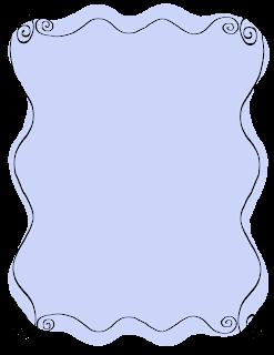 doodle hand drawn border labels frames scrapbooking designs