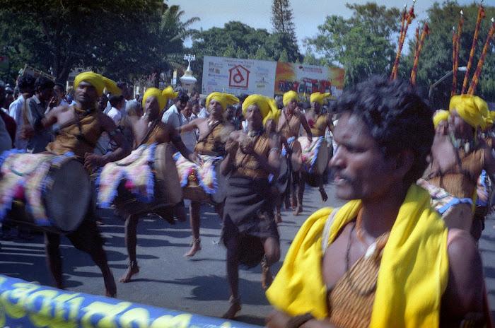 Mysore, Mysuru, Kannada Rajavastava festival, © L. Gigout, 1990