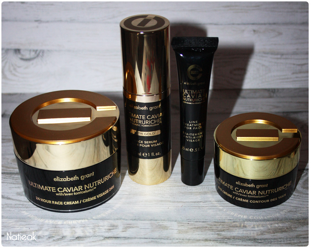 Elisabeth Grant Collection Ultimate Caviar Nutririche Soin visage et yeux