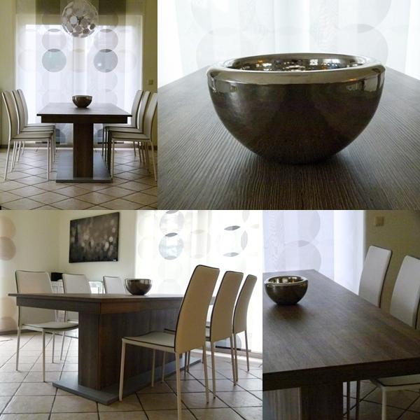 Weisse Kunstlederstühle Kables Von Contemporary/Tomasucci In Unserem  Wohnzimmer