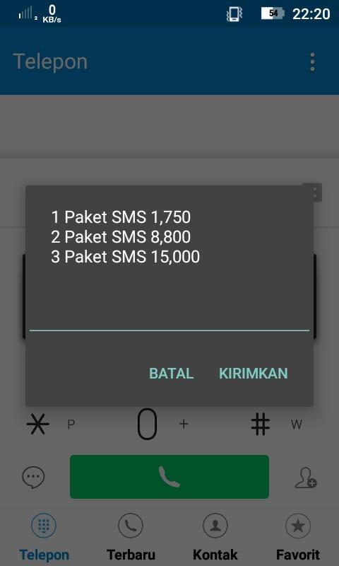 Cara Daftar Dan Cek Paket Pulsa Sms Murah Indosat Im3 Terbaru Loop Android