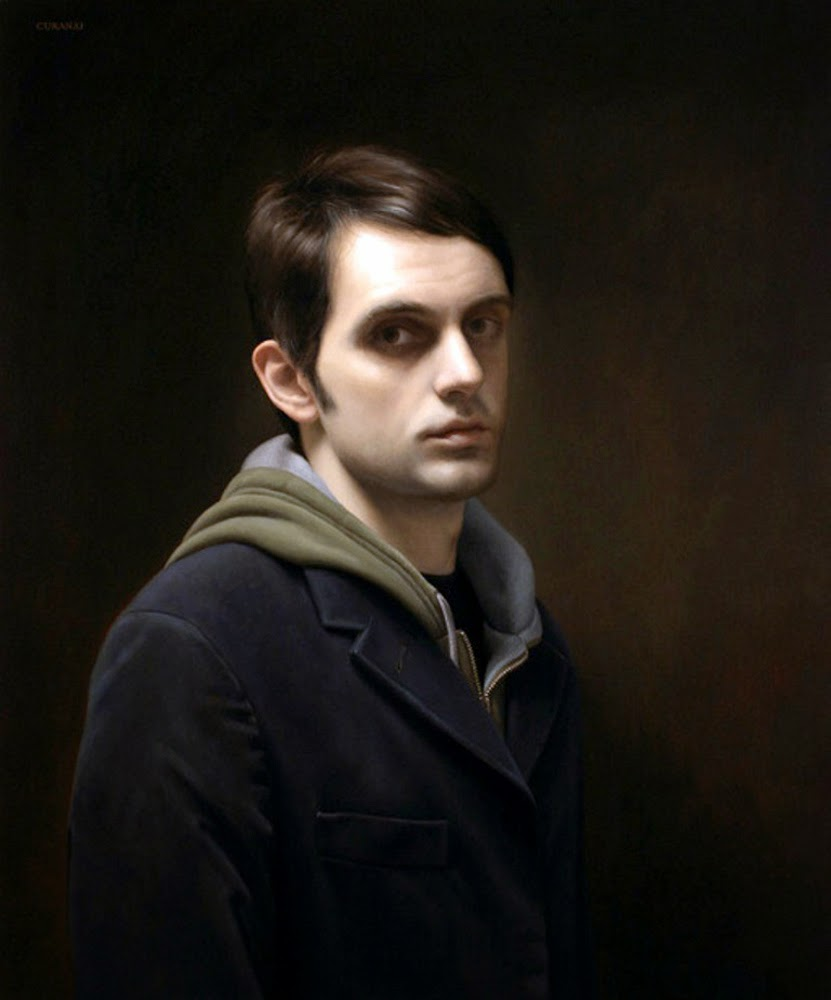 Tony Curanaj, Self Portrait, Portraits of Painters, Fine arts