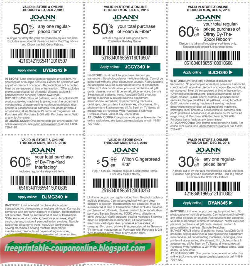 Printable Coupons 2018: Hobby Lobby Coupon