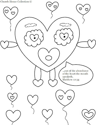 Church House Collection Blog Valentines Day Heart