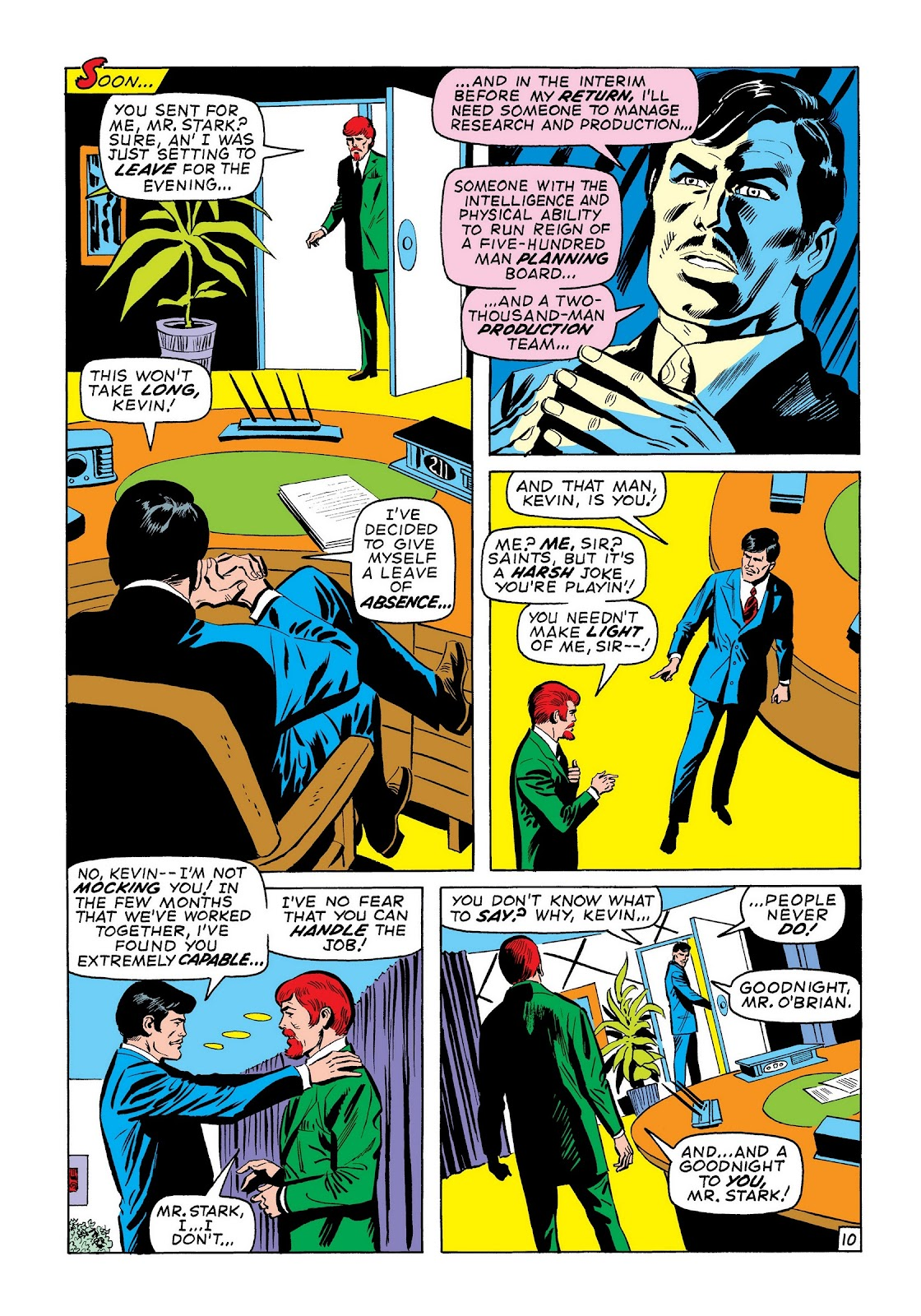 Read online Marvel Masterworks: The Invincible Iron Man comic -  Issue # TPB 7 (Part 3) - 39