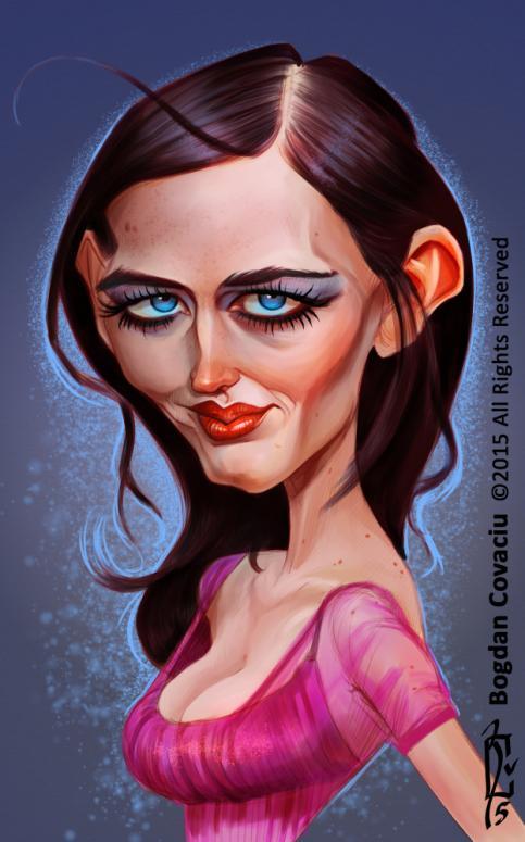 Eva Green por Bogdan Covaciu