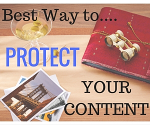 Protect Your Photos Videos and Content