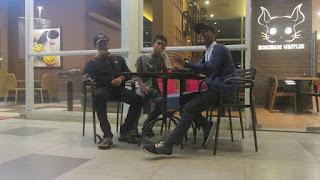 dari samping Kiri:Mahesa,Syafei,Ikhsan