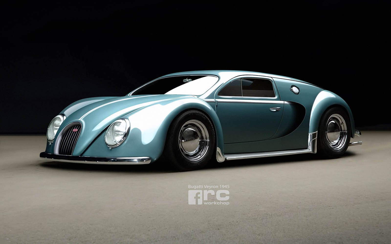 What If The Bugatti Veyron Had Been Made In 1945