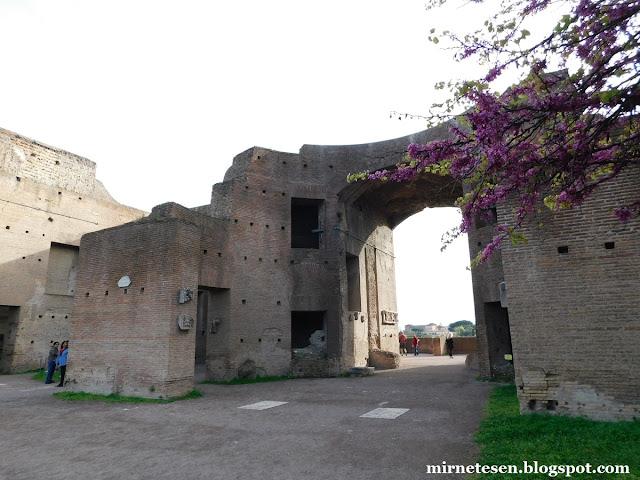 Палатин - Дом Августа