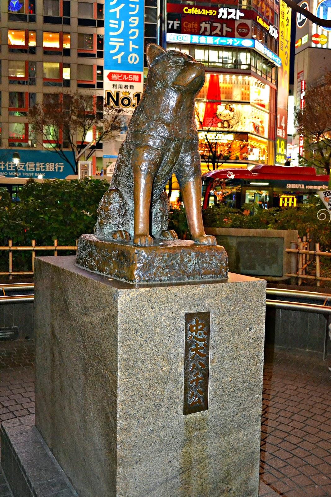 Tokyo: Hachiko Statue
