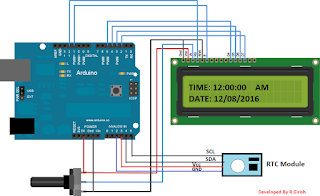 Arduino Digital Clock Using RTC Module