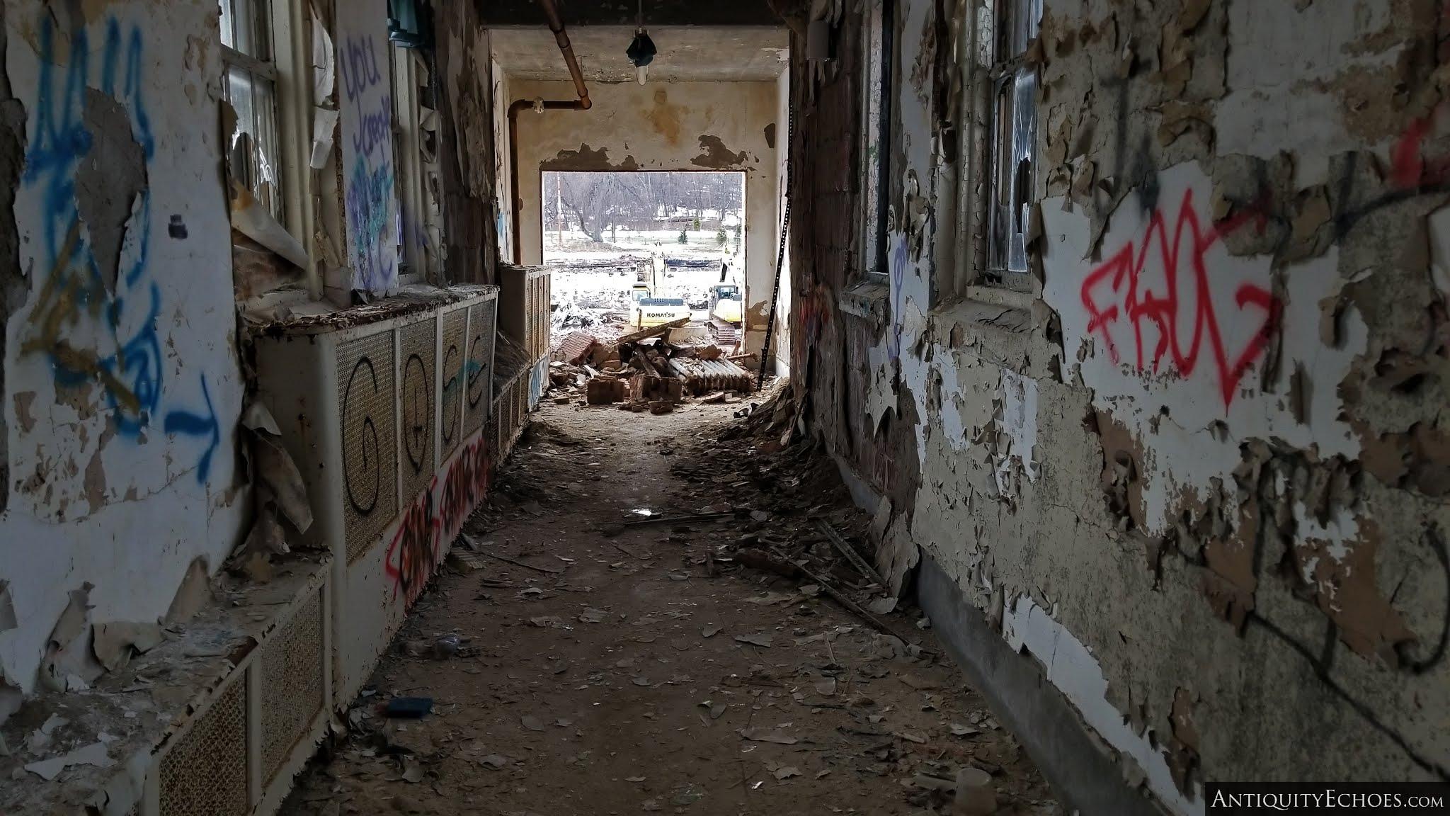 Overbrook Asylum - An Abrupt End
