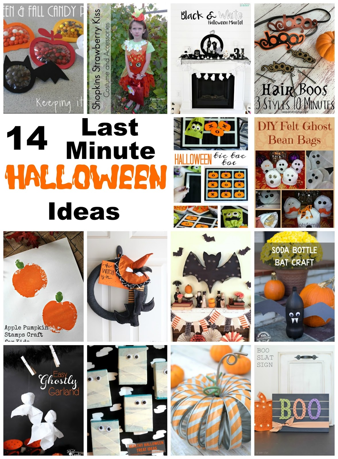 Pieces by polly 14 last minute halloween ideas and the for 5 minute halloween decorations