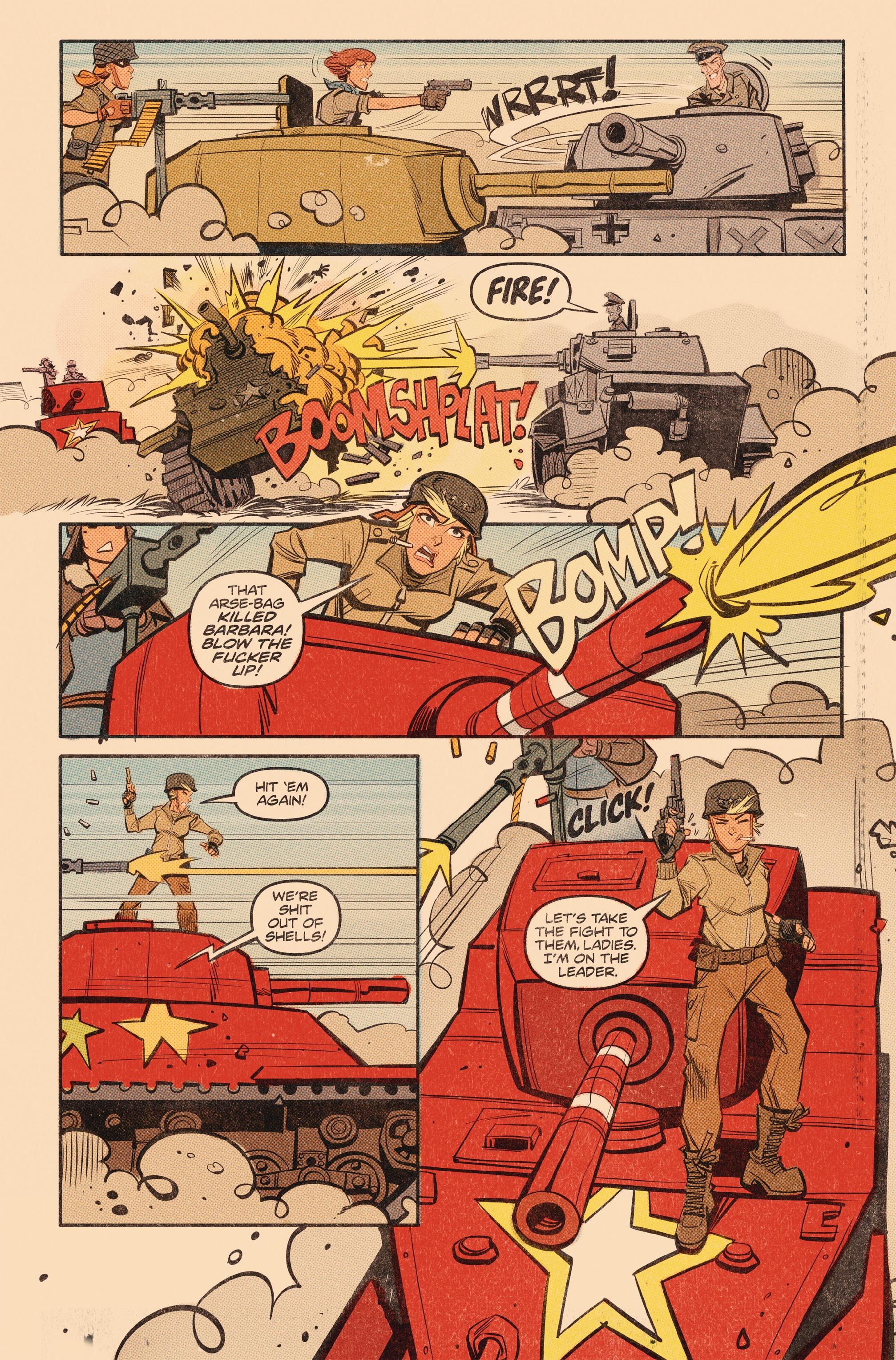 Read online Tank Girl: World War Tank Girl comic -  Issue #3 - 12
