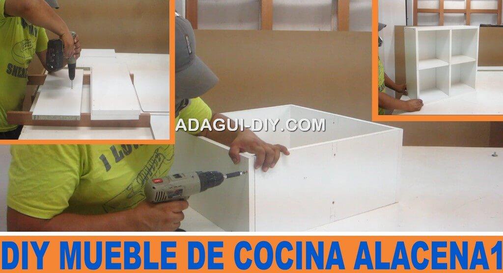 Mueble de cocina como armar m dulo a reo b sico de for Programa para fabricar muebles de melamina gratis