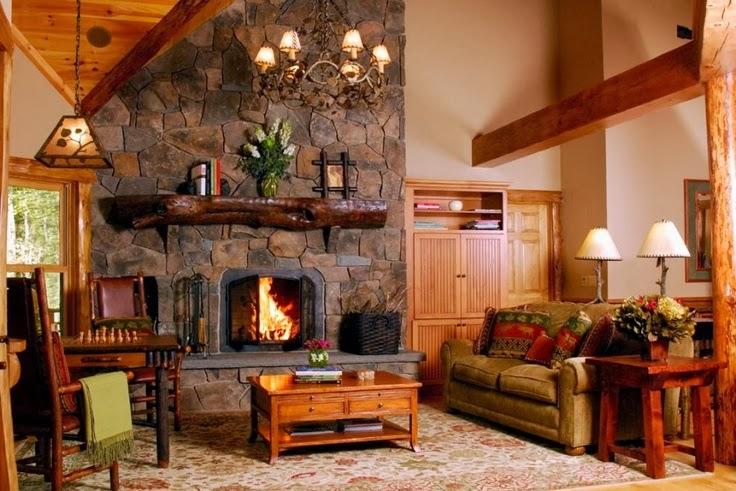 décoration style loge
