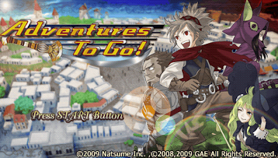 Game PSP Adventure To Go