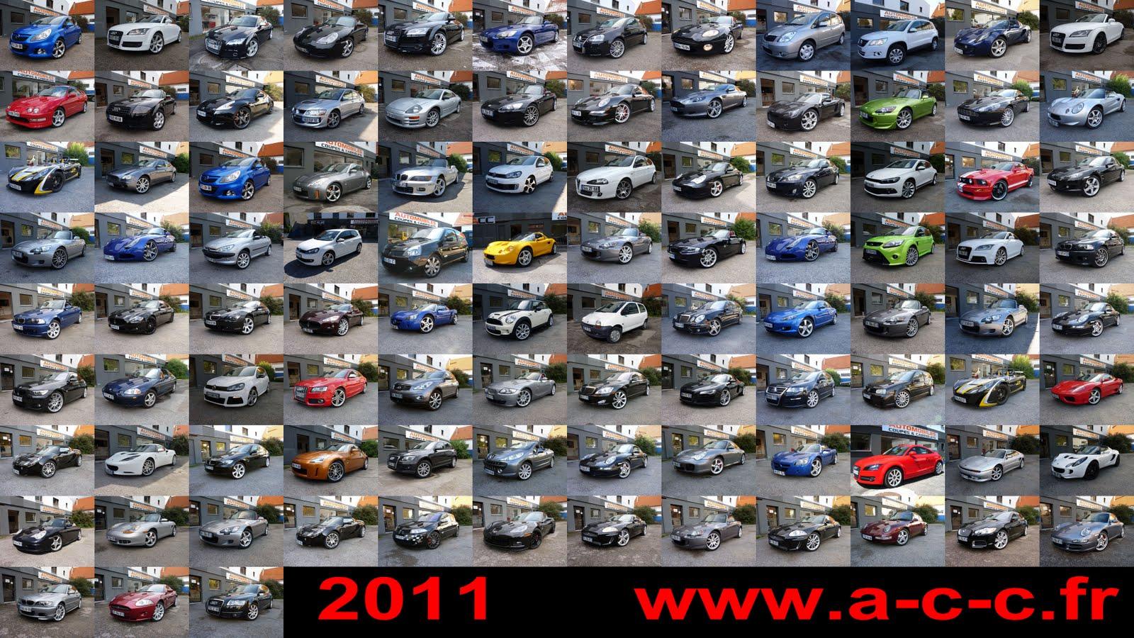 automobiles coup s et cabriolets meilleurs voeux 2012 ventes 2011. Black Bedroom Furniture Sets. Home Design Ideas
