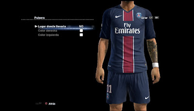 New Kits PSG 2016/17