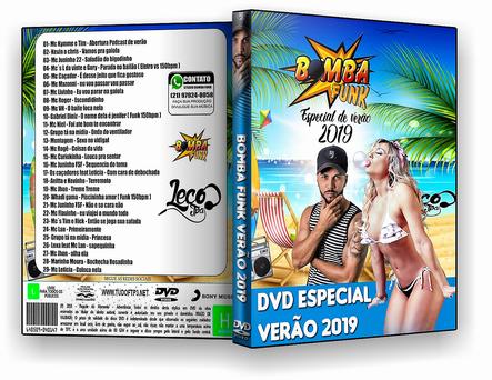 CAPA DVD – Bomba Funk – Especial De Verão – DVD 2019