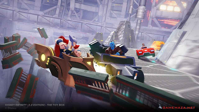 Disney Infinity 2.0 Gameplay Screenshot 1