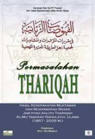 Jual Buku Permasalahan Thariqah | Agen Buku Aswaja Yogyakarta Surabaya