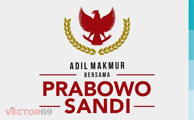 Logo Kampanye Prabowo-Sandi Capres 02 Adil Makmur - Download Vector File SVG (Scalable Vector Graphics)