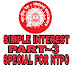 MATHS TRICKS IN HINDI SIMPLE INTEREST PART ~3 SPECIAL FOR NTPC