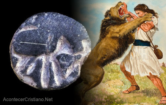 Sello antiguo evidencia veracidad de historia de Sansón