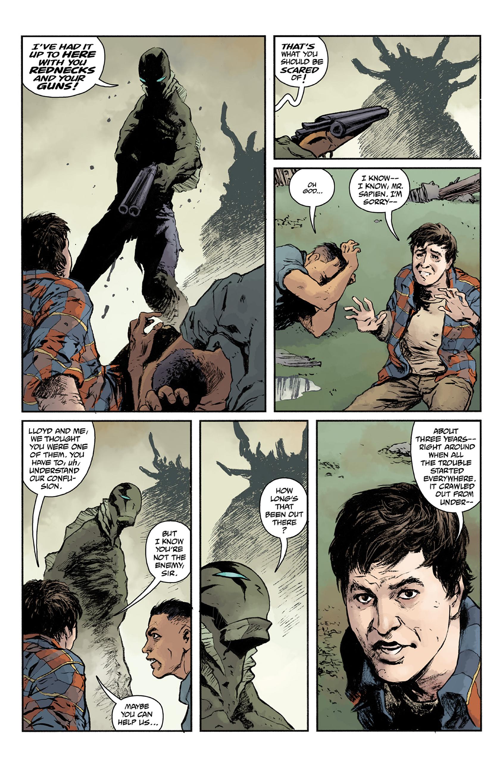 Read online Abe Sapien comic -  Issue #24 - 10