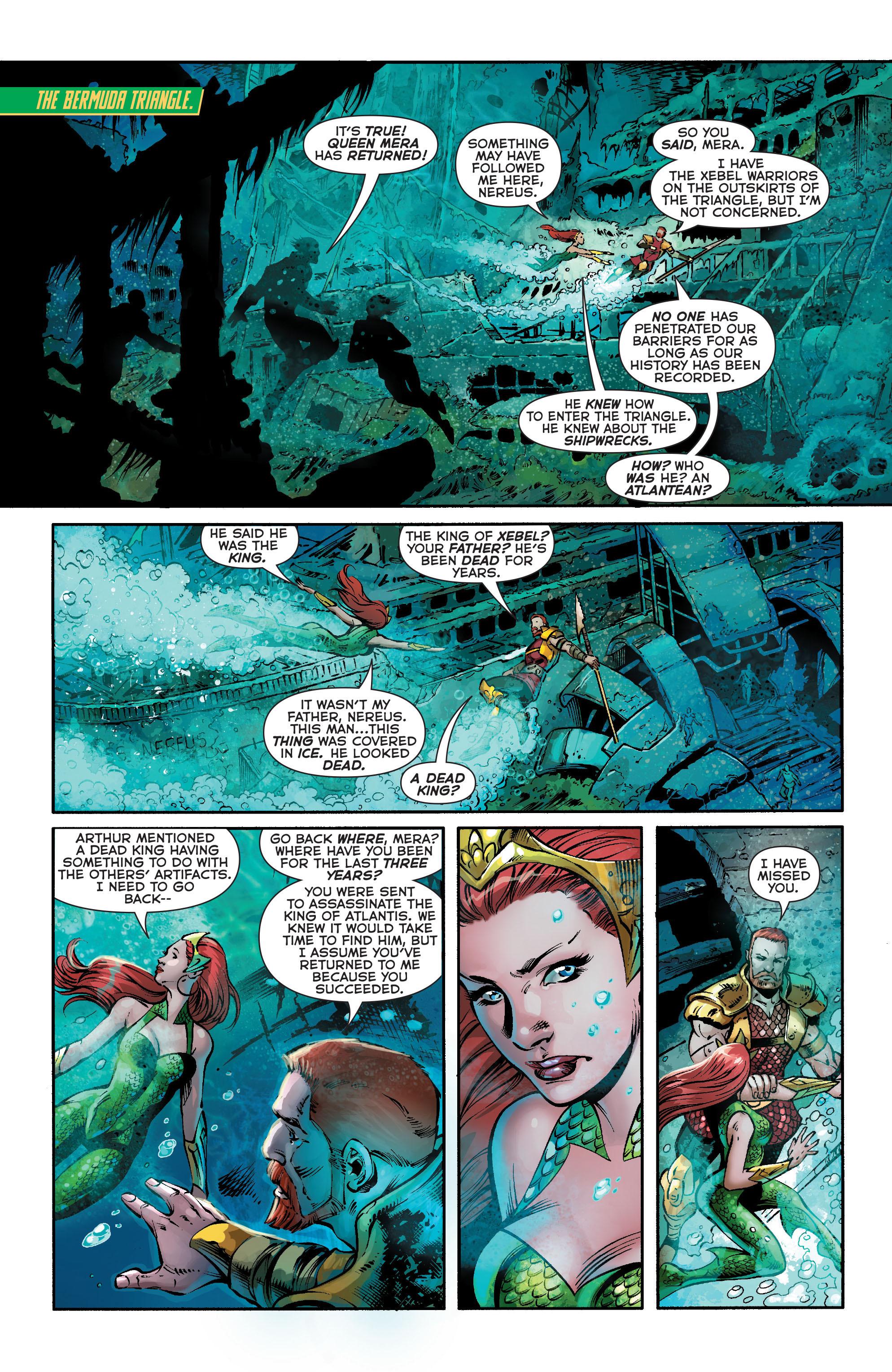 Read online Aquaman (2011) comic -  Issue #21 - 2