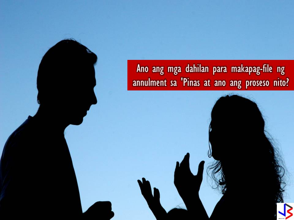 This post is about reason's to file an annulment and the processes in annulment of marriage in the Philippines.