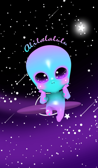 Cute Alien Alilalalulu