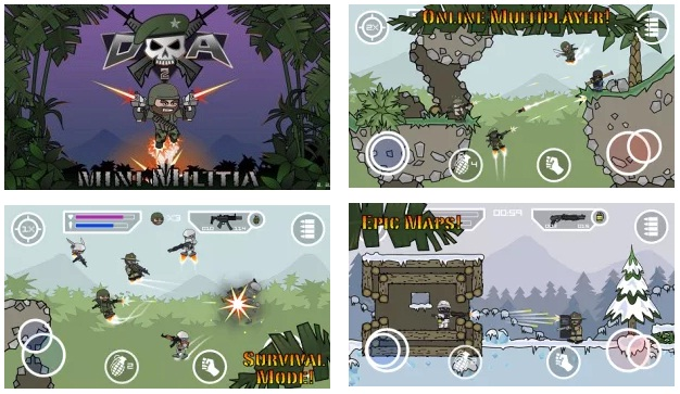 Doodle Army 2 Mini Militia Offline MOD APK