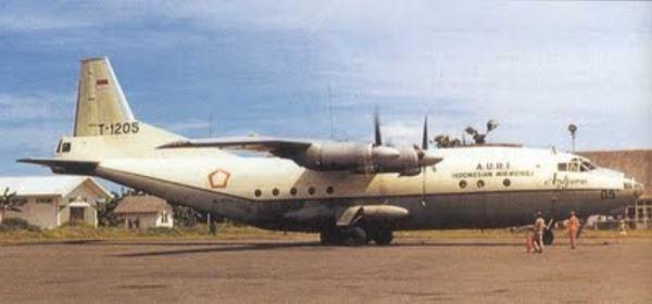 Antonov AN-12 TNI AU