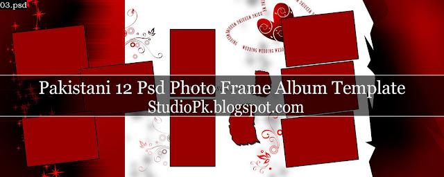 12 Psd Photo Frame Album