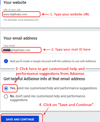 How to signUp to Google Adsense
