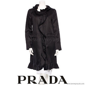 Crown Princess Mette-Marit wore Prada coat