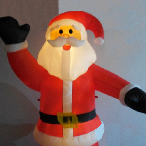 Waving Blow Up Santa Claus Christmas Inflatable $18