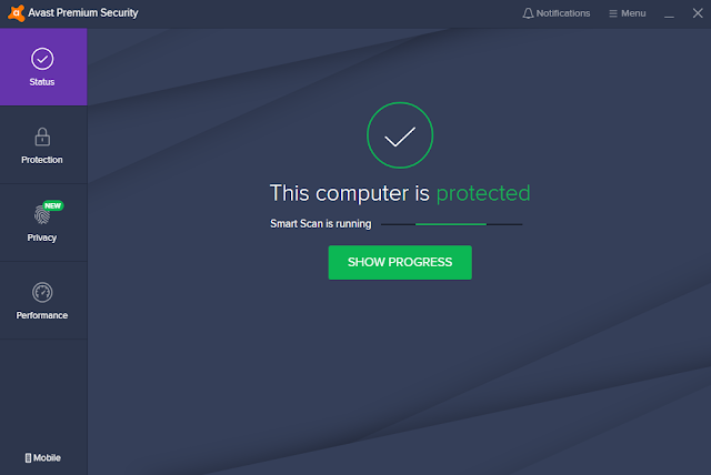 برنامج   Avast Premium Security 20.3.2405