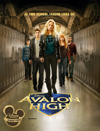 Poster Of Avalon High In Dual Audio Hindi English 300MB Compressed Small Size Pc Movie Free Download Only At worldfree4u.com