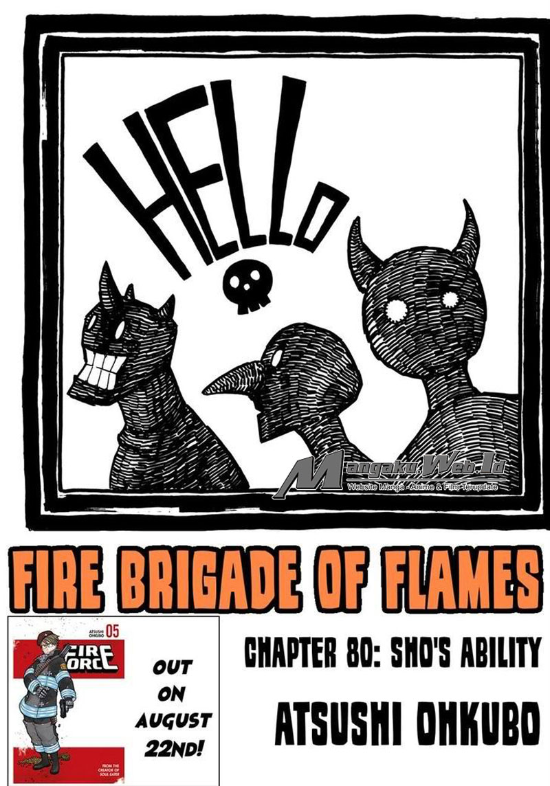 Fire Brigade of Flames – Chapter 80 : Sho's Ability