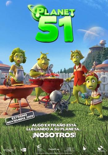 Planet 51 (Planeta 51) (2009) [BRrip 1080p] [Latino] [Animación]