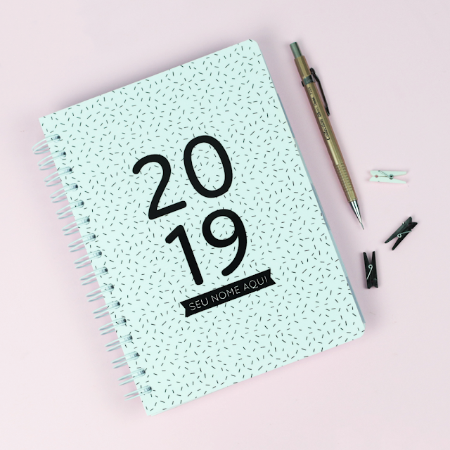 Planner 2019 minimalista download
