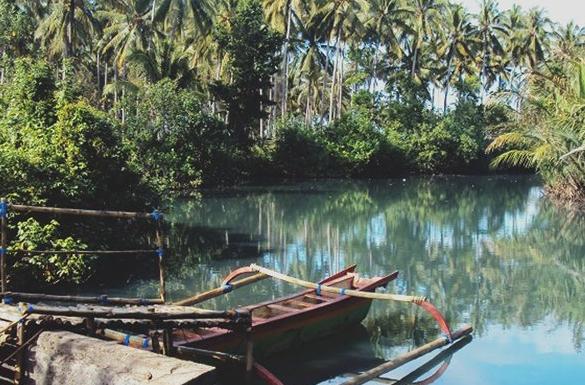 Taman Air Desa Gumbrih Indahnya Alam Bali