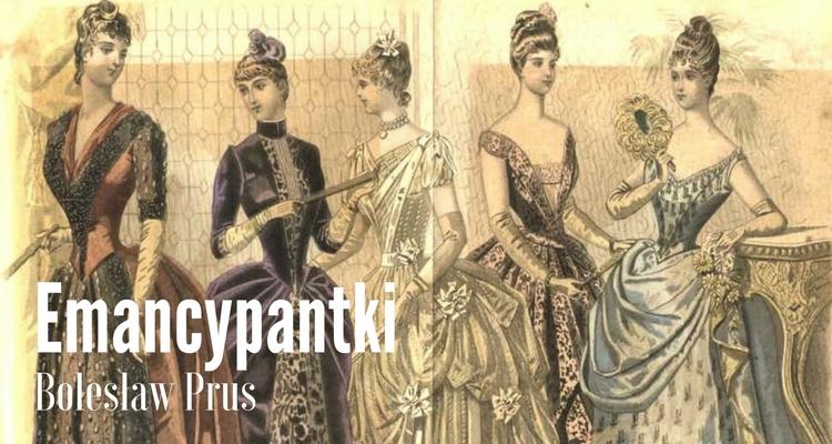 Kolorowa ilustracja z epoki prezentująca kobiety w strojach balowych z lat 70. XIX wieku.