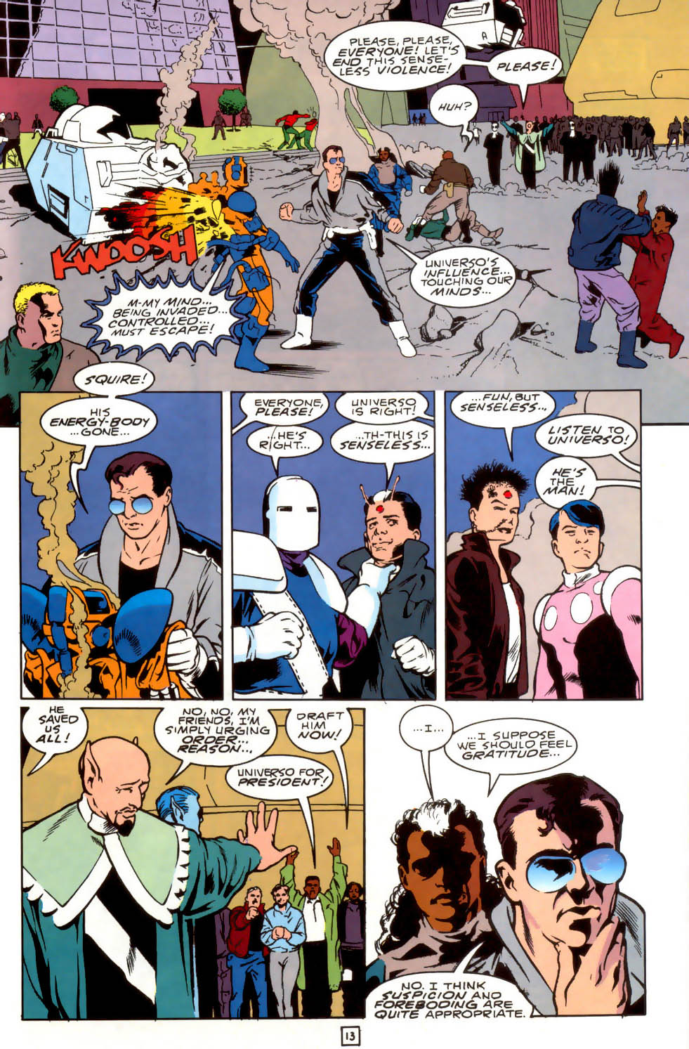 Legion of Super-Heroes (1989) 40 Page 13